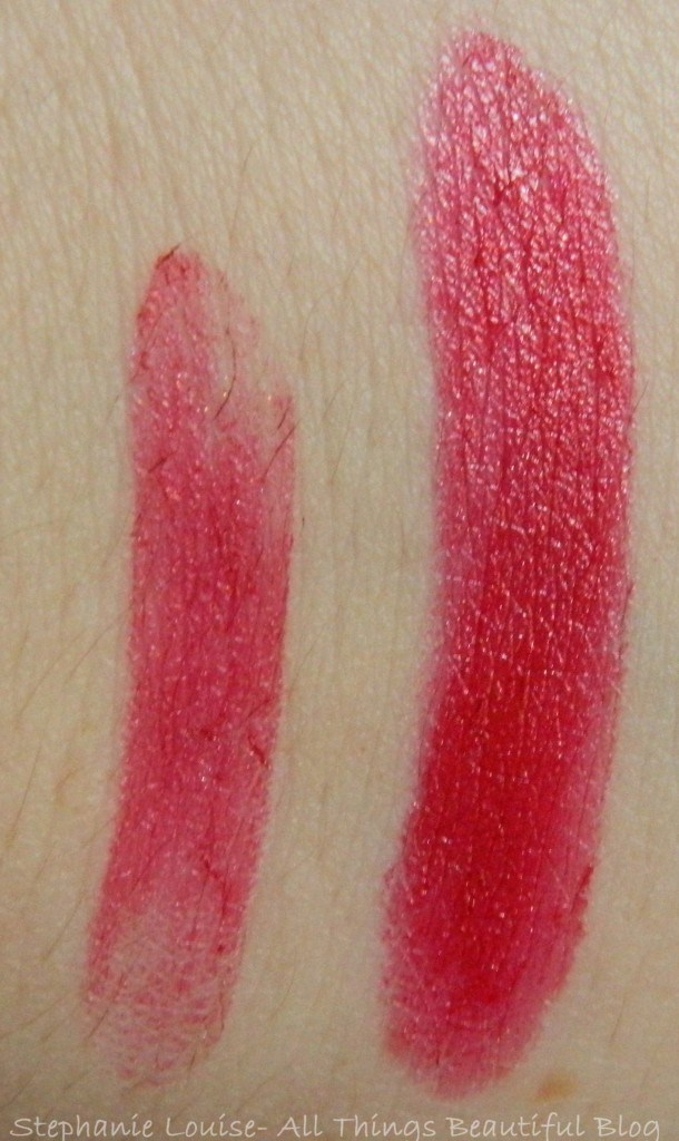 Maybelline Color Sensational Lipstick in Ruby Star Swatches & Review