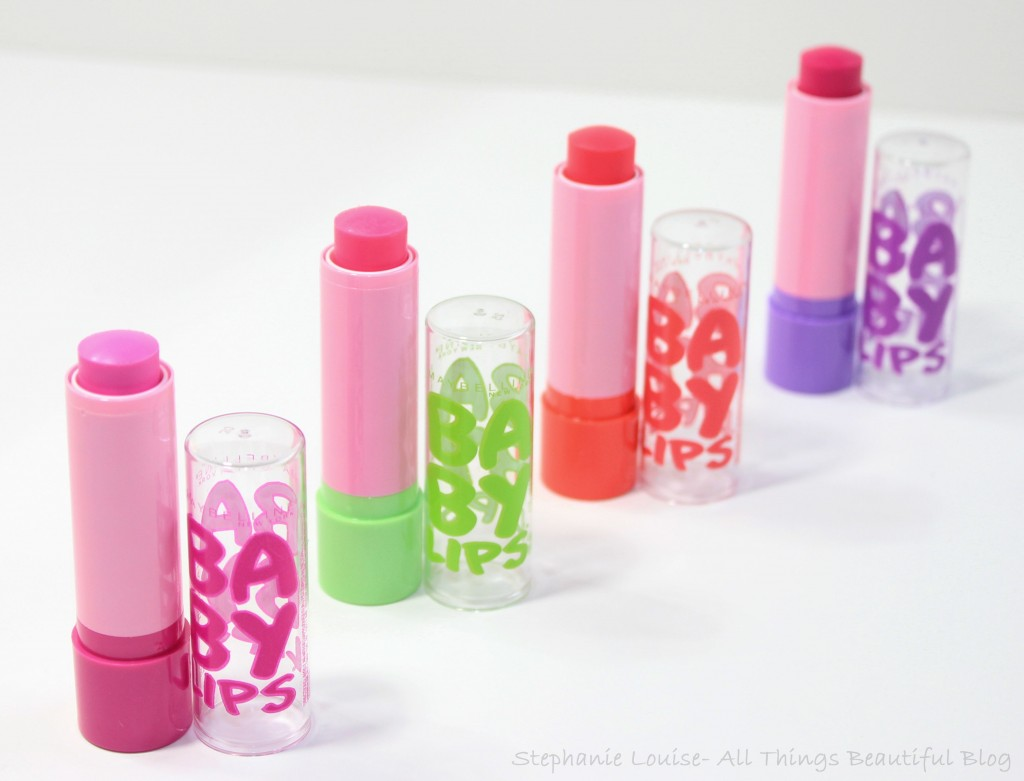 Maybelline Spring 2014 Baby Lips Pink'ed LE Collection ...