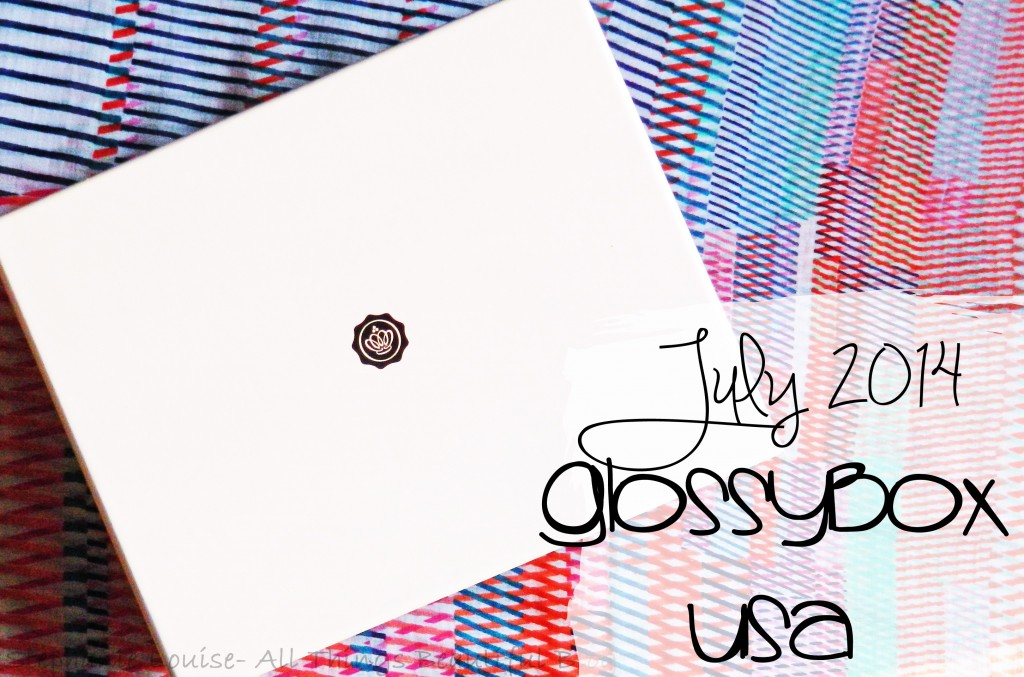 Glossybox USA for July 2014 featuring GlamGlow, Skin Inc, & More! Unboxing & Review