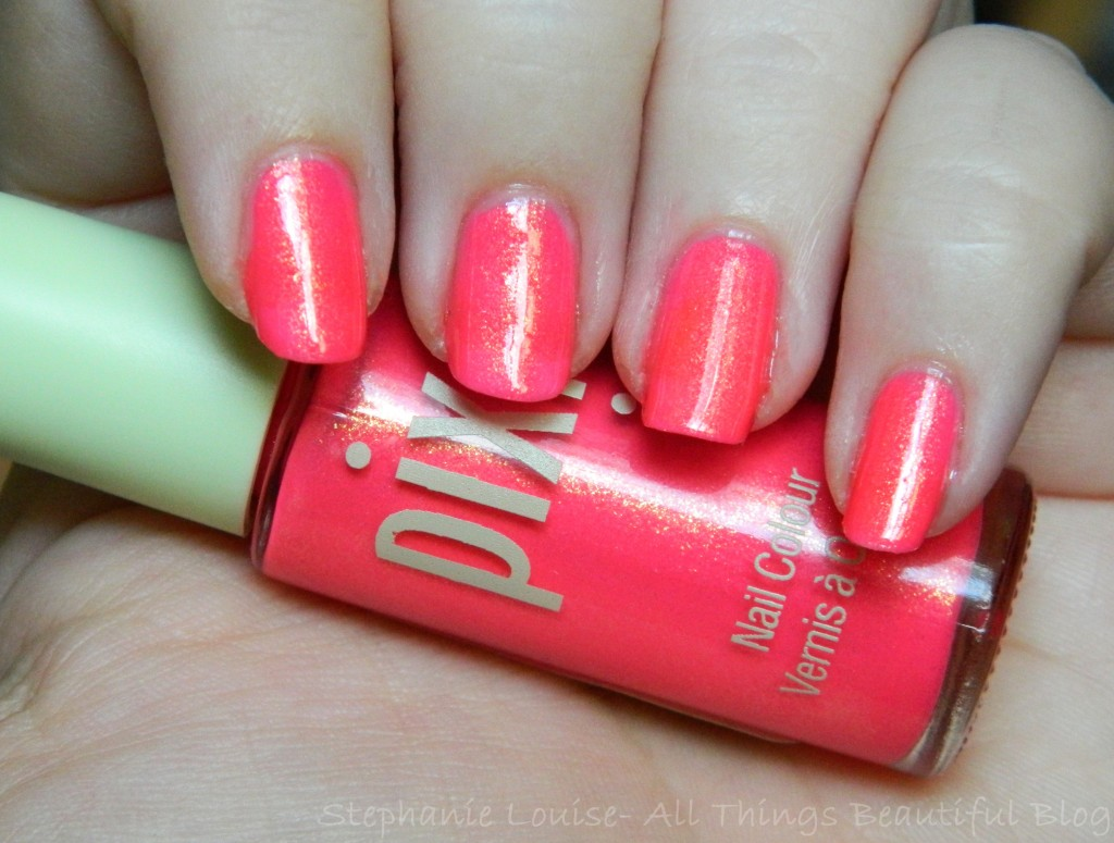 Pixi Limited Edition Shade in Fuchsia Dew Swatches & Review