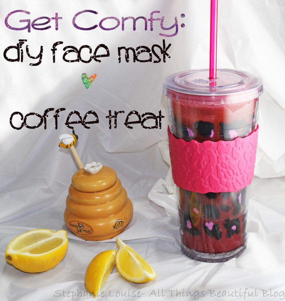 DIY Face Mask for Brightening Skin Honey Lemon + DIY Chocolate Coffee