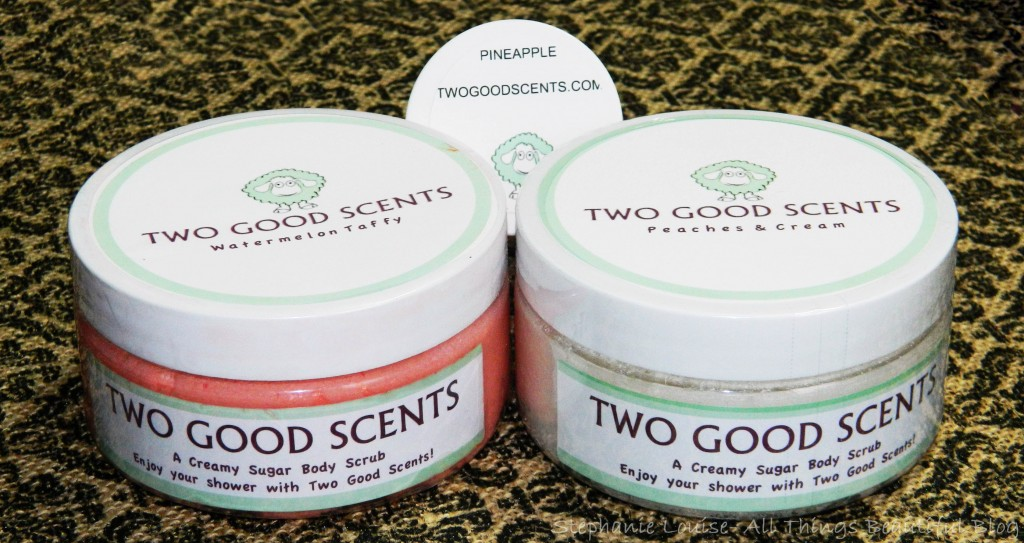 Two Good Scents Peaches & Cream + Watermelon Taffy Scrub Reviews + INTERNATIONAL GIVEAWAY!