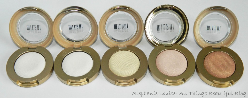 57550729da589 Milani Bella Eyes Full Eyeshadow Line Swatches   Review - All Things ...