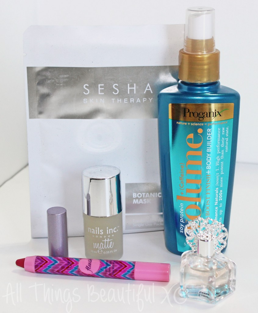 Glossybox for October 2014 featuring Tarte, Nails Inc., & More! from All Things Beautiful XO