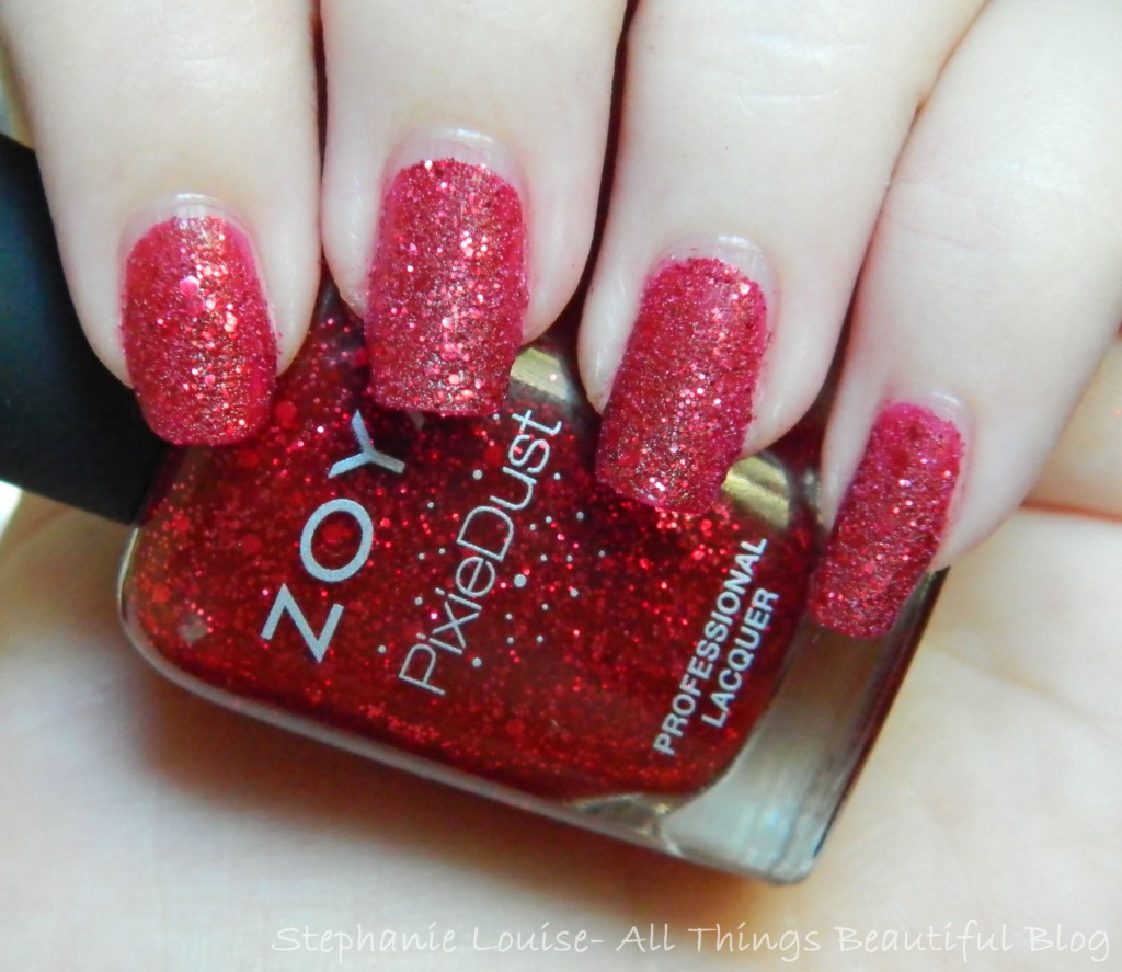 Zoya Fall 2014 Pixie Dust Trio Swatches & Review of Noir, Arianna, + Oswin from All Things Beautiful XO