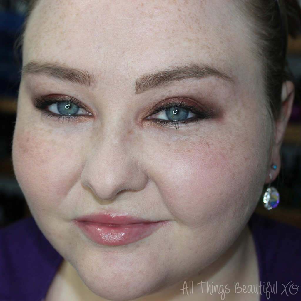 Smashbox Photo Op Cherry Smoke Eyeshadow Palette Swatches, Review, & Tutorial from All Things Beautiful XO
