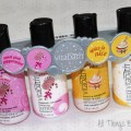 Vitabath Fragrance Collection for Holiday 2014 Body Wash & Lotion Carrier from All Things Beautiful XO containing Sweet Pink Peppermint & Spice is Nice!