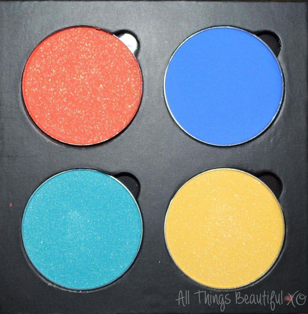 IMATS LA 2014 Palette Haul Sneak Peek of BH Cosmetics, Saucebox, Senna Cosmetics, & INGLOT! from All Things Beautiful XO