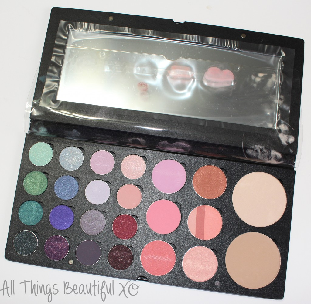 IMATS LA 2014 Palette Haul Sneak Peek of BH Cosmetics, Saucebox, Senna Cosmetics, & INGLOT! from All Things Beautiful XO