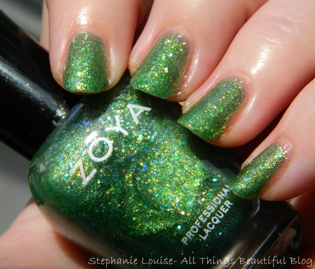 Zoya Bubbly Collection Summer 2014- This is Staasi  from All Things Beautiful XO