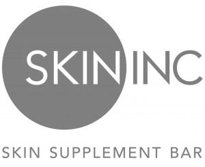 Skin Inc. Logo Press from All Things Beautiful XO