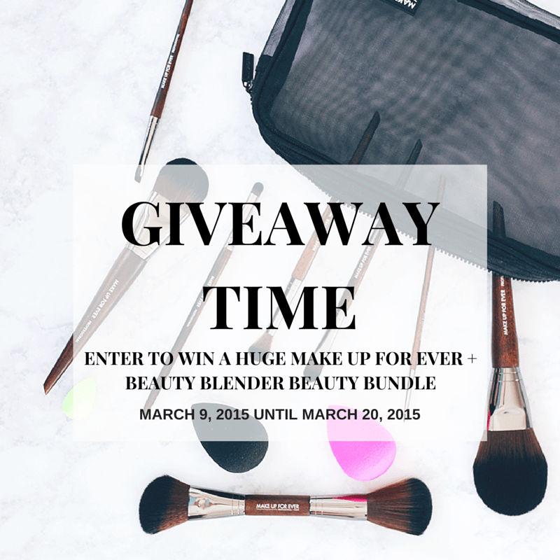 The Beauty Council Make Up For Ever + Beauty Blender Giveaway Makeup Must-Haves Giveaway #thebeautycouncil