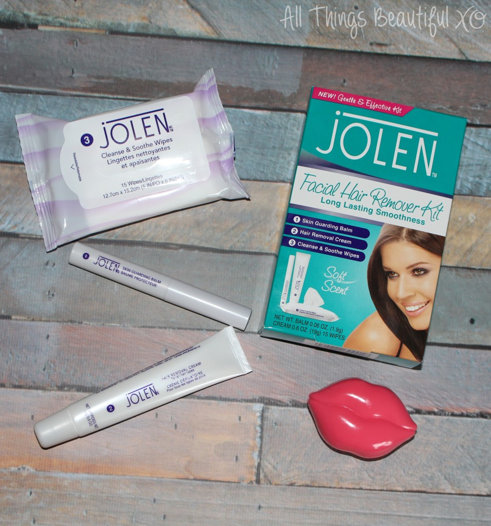 Getting Ready with Jolen Facial Hair Remover Kit Demo + Other Options on All Things Beautiful XO