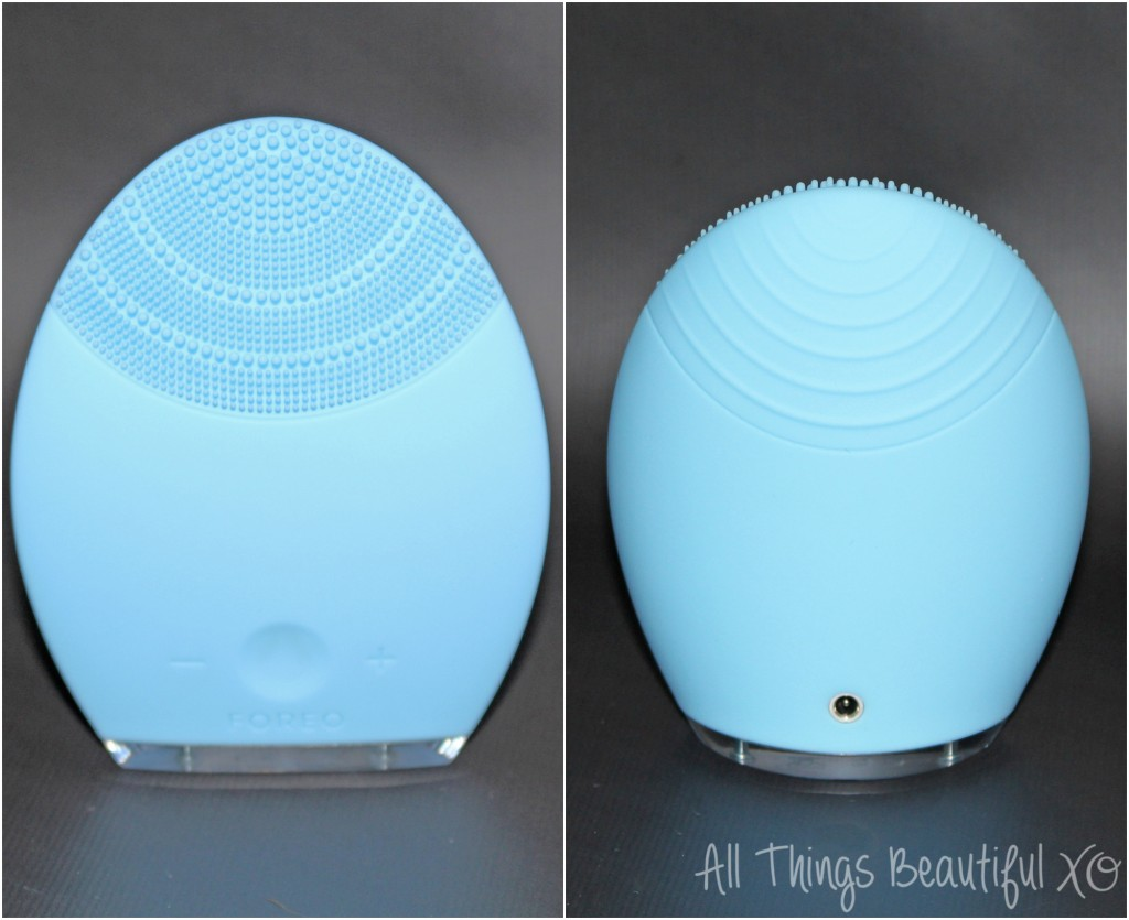 Looking for an amazing way to cleanse, smooth, & rejuvenate your skin?  The Foreo Luna anti-aging & facial-cleansing system might be your answer! This is the option for Combination skin- there is also one for more sensitive skin! All the details & my review on All things Beautiful XO | www.allthingsbeautifulxo.com