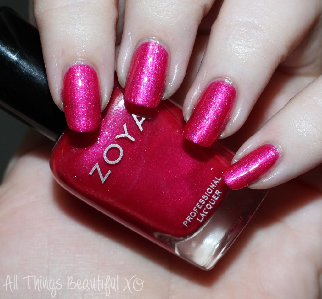 Swatches & review of the Zoya Paradise Sun Collection for Summer 2015 including Zoya Mae, Isa, Genesis, Selene, Oceane, & Aphrodite! on All Things Beautiful Xo | www.allthingsbeautifulxo.com