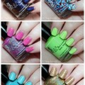 KBShimmer Swatches & Review Part 2 for Summer 2015 including glitters & neons! from All Things Beautiful XO | www.allthingsbeautifulxo.com