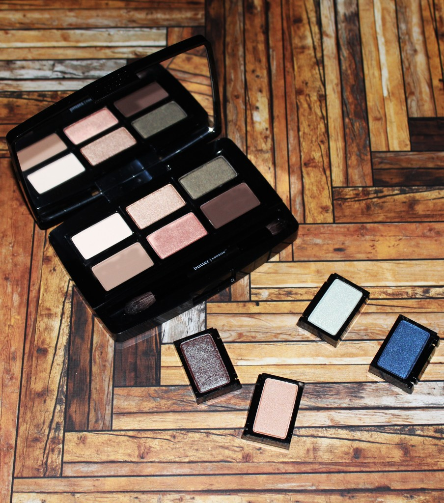 Butter London Shadow Clutch Palette + Interchangeable Duos Swatches & Review