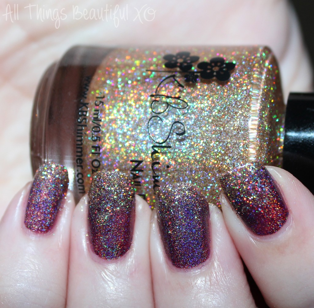 KBShimmer Nail Polish in I Feel Gourd-geous & Fig-Get About It Holo ...
