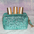 Swatches & review of the Too Faced La Petit Tresor Holiday 2015 La Creme Lipstick Trio - in a glittering sparkling fabulous bag! Yes please! Check out more beauty finds & tutorials on All Things Beautiful XO