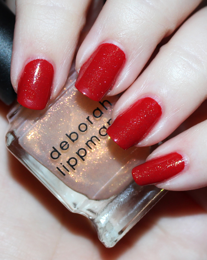 Deborah Lippmann Nail Polish in Diamond and Pearls   Fabulous Deborah Lippmann Nail Lacquer Shades- Swatches & Thoughts!