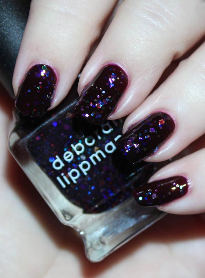 Deborah Lippmann Nail Polish in Let's Go Crazy  Fabulous Deborah Lippmann Nail Lacquer Shades- Swatches & Thoughts!