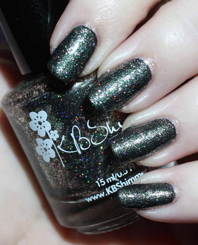 This is KBShimmer  Black Pearl  Swatches & review of the stunning KBShimmer Birthstone collection including shades like Sapphire, Peridot, Diamond, & more! See more on All Things Beautiful XO including makeup tutorials, skincare, hair, & more nail love!