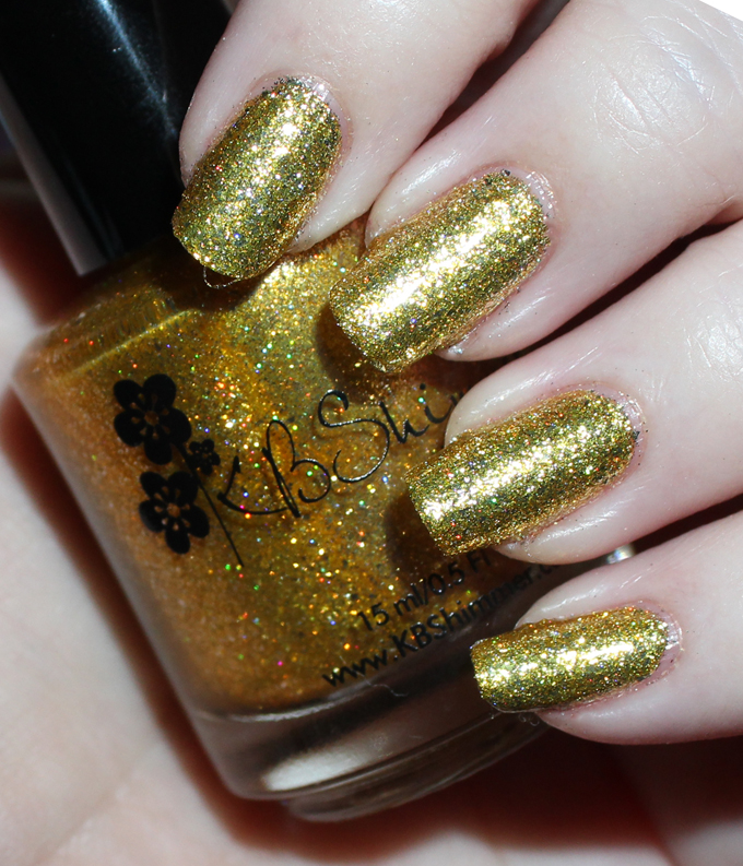 This is KBShimmer  Citrine  Swatches & review of the stunning KBShimmer Birthstone collection including shades like Sapphire, Peridot, Diamond, & more! See more on All Things Beautiful XO including makeup tutorials, skincare, hair, & more nail love!