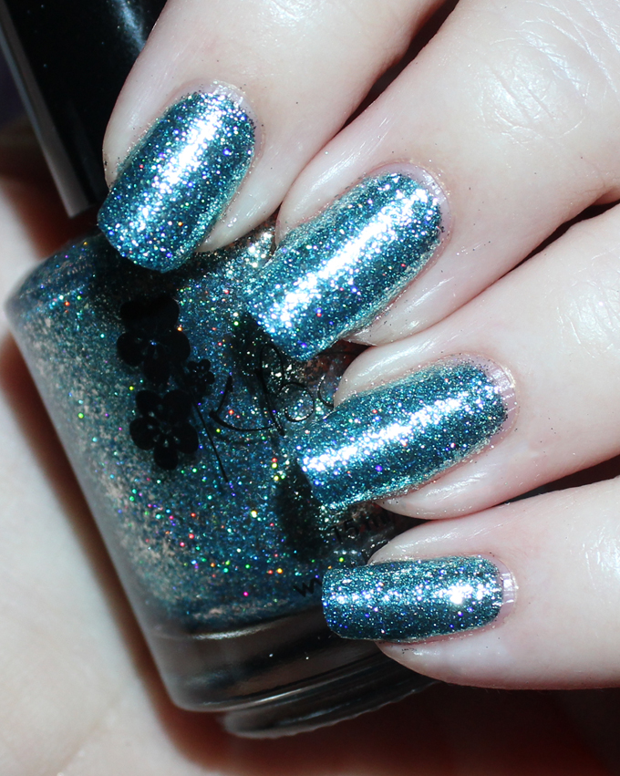 This is KBShimmer  Blue Topaz  Swatches & review of the stunning KBShimmer Birthstone collection including shades like Sapphire, Peridot, Diamond, & more! See more on All Things Beautiful XO including makeup tutorials, skincare, hair, & more nail love!