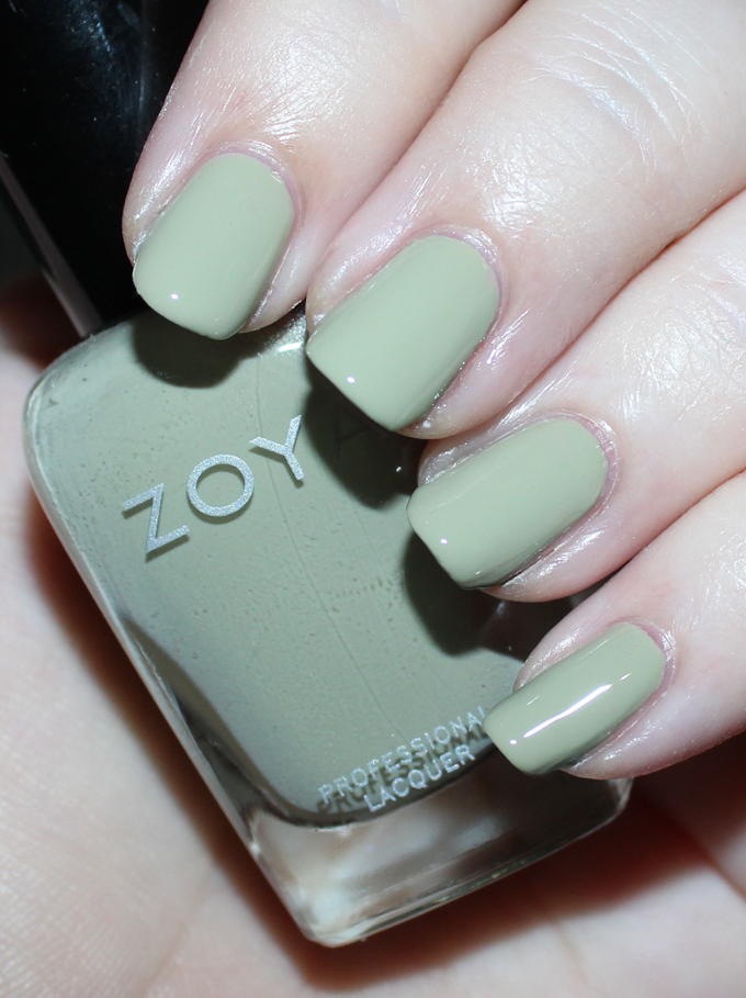 ZOYA IRELAND   Swatches & review of the Zoya Whispers Transitional 2016 Nail Polish Collection including the shades April, Cala, Lake, Eastyn, Ireland, & Misty on All Things Beautiful XO