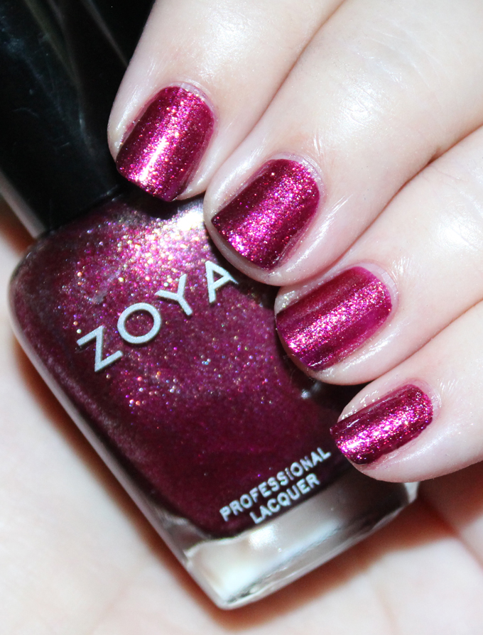 This is Zoya Britta  Swatches & review of the Zoya Urban Grunge Metallic + Holos including the shades Alicia, Finley, Merida, Britta, Ash, & Troy! Check out more nail art, makeup reviews, & style on All Things Beautiful XO