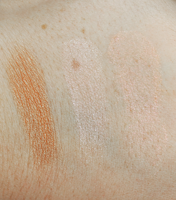 Swatches & review of the Urban Decay Naked Illuminated Highlighter Trio. Check out more reviews, nail art, & tutorials on All Things Beautiful XO