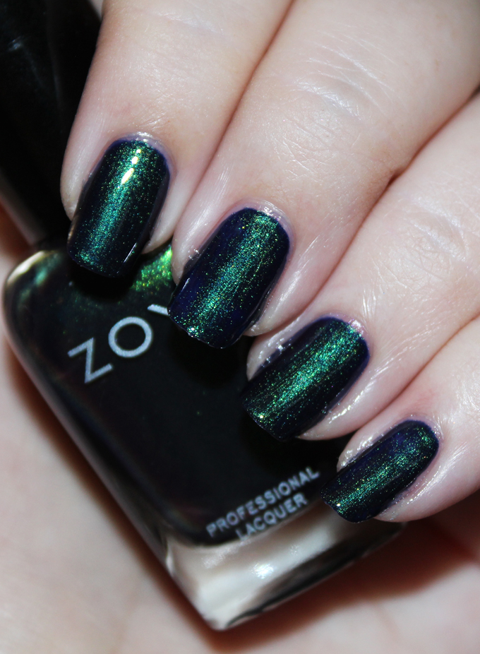 Here's a look at Zoya Nail Polish in Olivera Zoya Enchanted Winter & Holiday 2016 Collection Swatches & Review