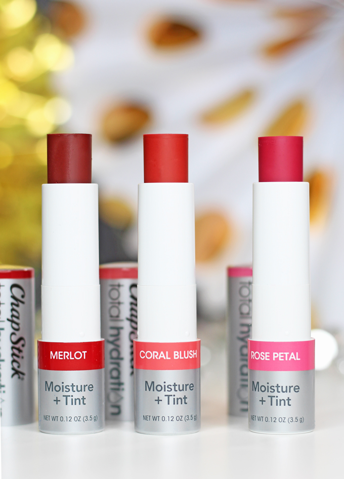 ChapStick Total Hydration Conditioning Lip Scrub & Total Hydration Moisture + Tint Balms Low-Key Holiday Beauty Finds for Every Day from brands like ChapStick, Paul Mitchell, & more on All Things Beautiful XO #BabbleBoxxBeauty #ad #beauty