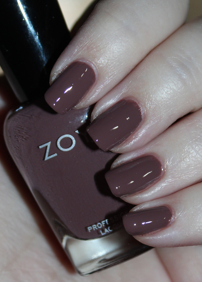 This is Zoya Nail Polish in Mary Swatches & Review Zoya Naturel 3 Collection including the shades Tatum, Cathy, Jill, Mary, Gina, & Debbie on All Things Beautiful XO