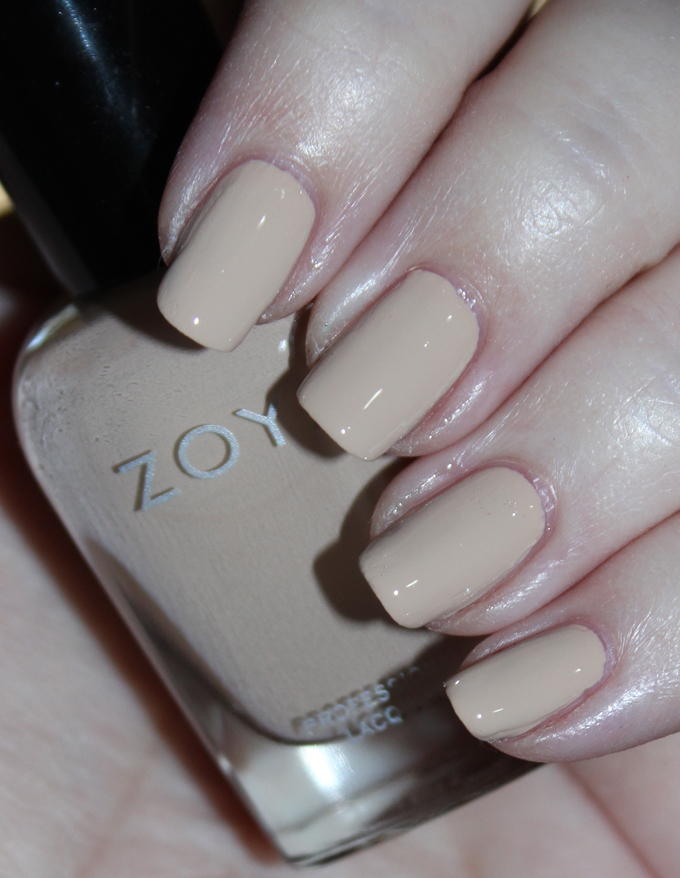 This is Zoya Nail Polish in Tatum Swatches & Review Zoya Naturel 3 Collection including the shades Tatum, Cathy, Jill, Mary, Gina, & Debbie on All Things Beautiful XO