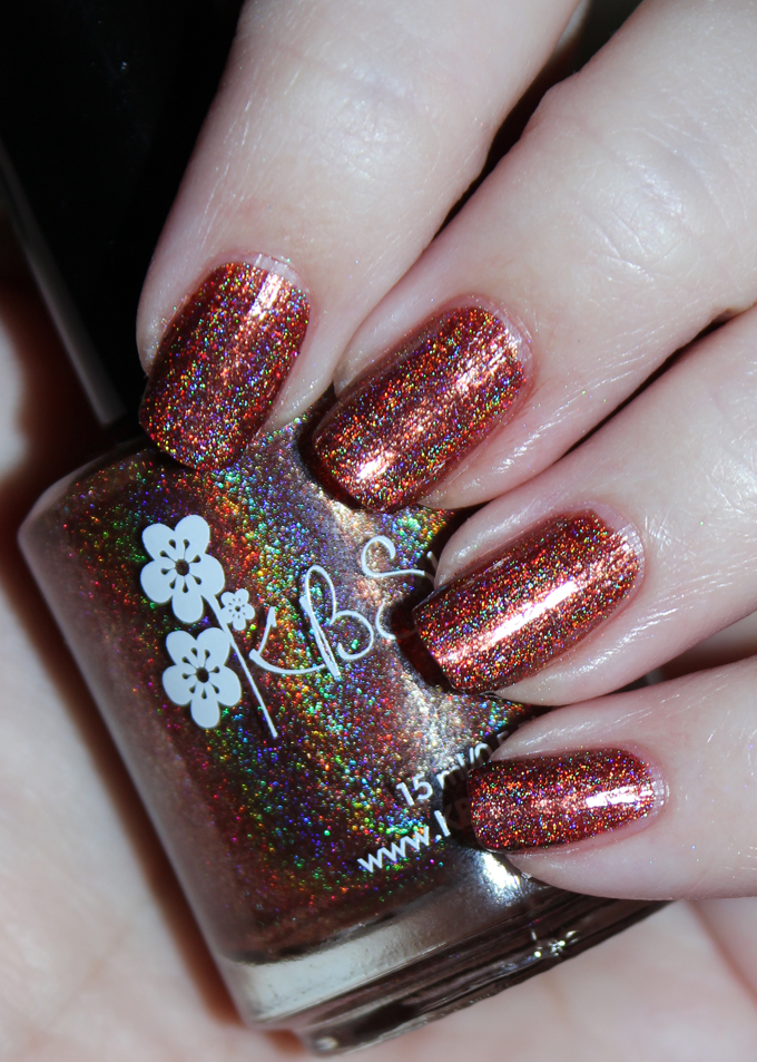 A look at the gorgeous petrified wood-inspired nail polish duo created by KBShimmer + The Jedi Wife available at The Indie Shop & KBShimmer. See swatches, review, & some nail art using It's Petrifying + I Never Wood Have Guessed on All Things Beautiful XO