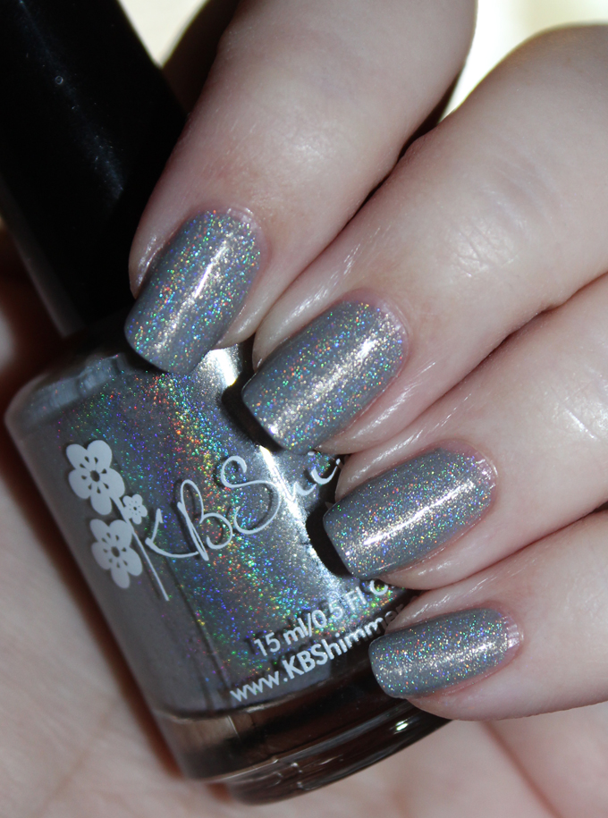 KBShimmer Nail Polish in Fax of Life KBShimmer Office Space Collection Swatches & Review. See this gorgeous neutral but exciting collection of polishes on All Things Beautiful XO