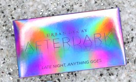 Urban Decay Afterdark Eyeshadow Palette Review, Swatches, & Eye Look! This palette includes incredible shimmers & metallics including the shades Alter, Scene, Supersonic, Sinful, Off Duty, Backfire, Lounge, Fringe, & Paralyzed! Plus a gorgeous iridescent metallic purple case that looks so magical! Click through to see my fun purple eyeshadow look too! See more makeup, nail art, & beauty on All Things Beautiful XO