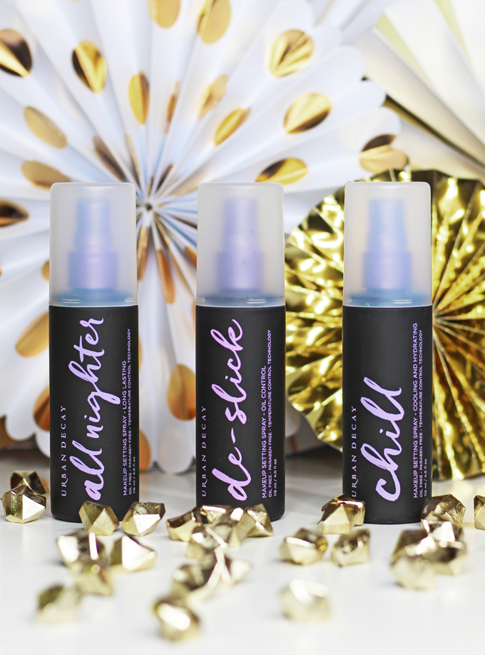 Which Urban Decay Setting Spray is Right for You? Comparing UD Chill, All Nighter, & De-Slick sprays! See more makeup, beauty, & nails on All Things Beautiful XO