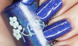KBShimmer Holo Can You Go- the Most Stunning Custom Blurple Holo for the Holomaniacs group with swatches & review on All Things Beautiful XO