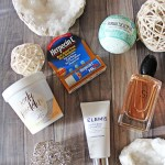 Some fragrance, dry lip cure, & more in my 5 Winter Beauty Must-Haves I'm Loving Right Now including Armani Si, Zoella, Elemis skincare, Fizz & Bubble bath bomb, & Herpecin-L to heal dry or cracked lips on All Things Beautiful XO