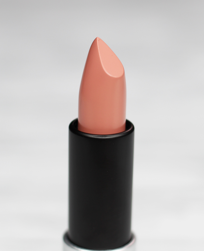 MUFE Artist Rouge Lipstick Satin Creme in C105 Greige Beige | I Bought a Bunch of MUFE Artist Rouge Lipsticks & Here's What I Think! (Make Up For Ever swatches, full face, & sass) on All Things Beautiful XO