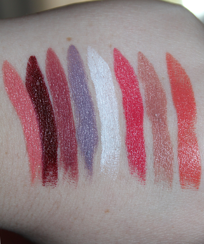 ... MUFE Creme Satin Swatches | I Bought a Bunch of MUFE Artist Rouge Lipsticks & Here's