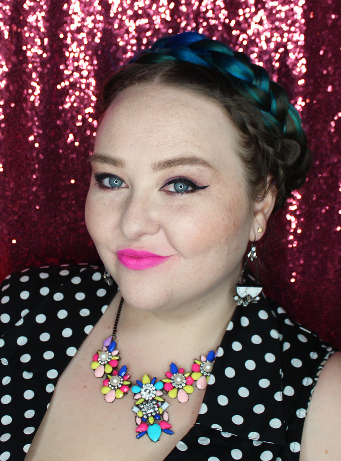 MUFE Artist Rouge Lipstick Matte in M202 Candy Pink   I Bought a Bunch of MUFE Artist Rouge Lipsticks & Here's What I Think! (Make Up For Ever swatches, full face, & sass) on All Things Beautiful XO
