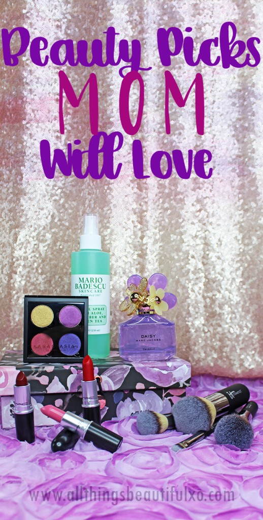 Beauty products make great gifts! What is something she might appreciate? Keep reading to see my recommendations for the perfect gifts, Mother's Day, & Birthdays on All Things Beautiful XO