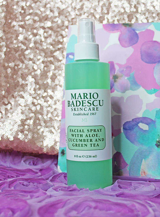 Mario Badescu Facial Spray with Aloe, Cucumber, & Green Tea is the perfect relaxing staple for makeup touchups or makeup setting spray! Beauty products make great gifts! What is something she might appreciate? Keep reading to see my recommendations for the perfect gifts, Mother's Day, & Birthdays on All Things Beautiful XO