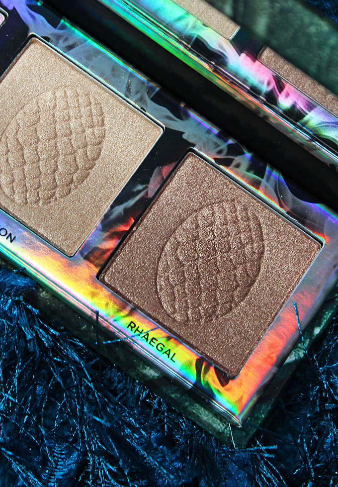 Urban Decay X Game of Thrones Mother of Dragons Highlight Palette Swatches & Review