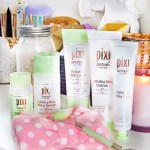 Review if the Pixi Hydrating Milky Skincare Line including cleanser, peel, & tonic on All Things Beautiful XO