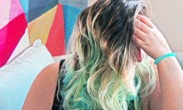 Wavy Ombre Teal Mermaid Hair Check out the best hair products to get the most fabulous beachy waves, treat, & style them on All Things Beautiful XO