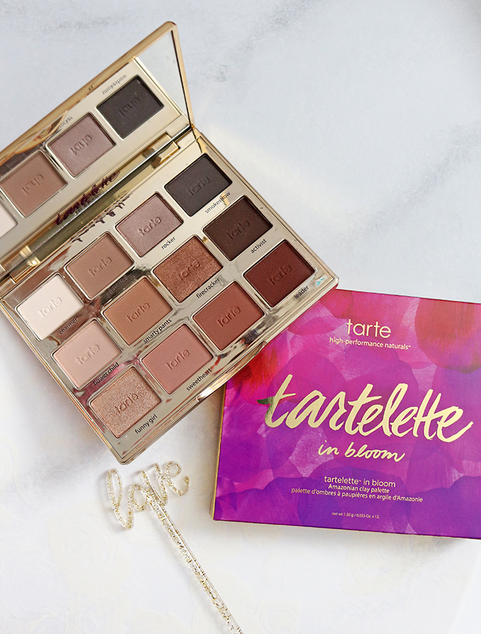 Tartelette in Bloom Palette from Tarte Gifts for yourself, galentines, mom, or women in your life that AREN'T your regular box of chocolates or bouquet of flowers on All Things Beautiful XO